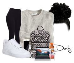"""""""..."""" by beautyuniqueblossoms ❤ liked on Polyvore featuring Squair, Vera Bradley and NIKE"""