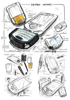 Sketch Design, Design Art, Design Ideas, Graphic Design, Sick Drawings, Conceptual Sketches, Logos Retro, Sketching Techniques, Industrial Design Sketch