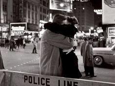 New Year's Eve, Times Square, Manhattan, 1959. Henri Cartier-Bresson. Gelatin silver print