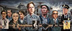 Justin Reed Art: THE SHAWSHANK REDEMPTION