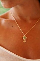 Plated Gold Necklace by Junam Jewelry.  http://www.etsy.com/shop/JunamJewelry