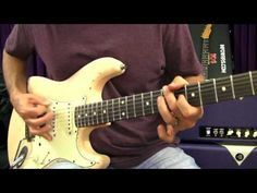 Hard Rock Guitar Lessons - Playing Rhythm Using The Pentatonic Scale - YouTube