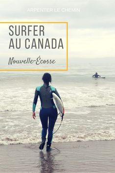 Surfer au Canada, pour les braves qui ne craignent pas l'eau froide ! #canada #surf #novascotia #halifax #voyage #travel #blogvoyage