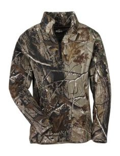 RedHead® Camo Fleece 1/4 Zip Pullover for Ladies | Bass Pro Shops