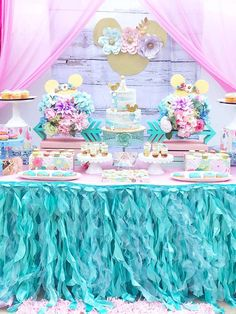 AandAevents_'s Birthday / Boho Minnie - Photo Gallery at Catch My Party 18th Birthday Party Themes, 1st Birthday Girl Decorations, Mickey Birthday, Tea Party Birthday, Unicorn Birthday Parties, Girl Birthday, Bubble Guppies Birthday, Minnie Mouse Party, 1st Birthdays