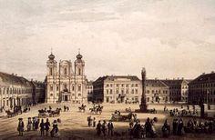 Timisoara - Piata Unirii - 1860