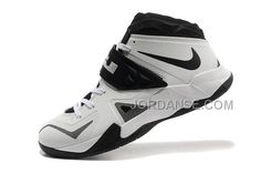 Buy Lebron NK Zoom Soldier White/Black-Metallic Silver For Sale Online from  Reliable Lebron NK Zoom Soldier White/Black-Metallic Silver For Sale Online  ...