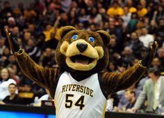 UC Riverside Highlanders mascot, Scotty the Bear.