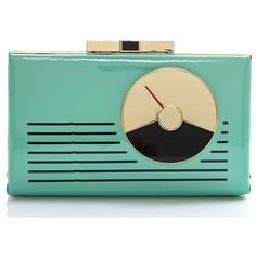 kate spade new york Radio Samira (1.015 HRK) ❤ liked on Polyvore featuring bags, handbags, clutches, purses, fillers, accessories, dusty mint, kate spade clutches, evening clutches and handbags purses