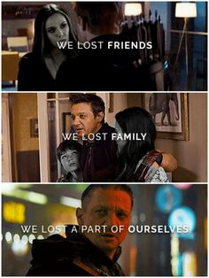The snap killed his family and now he's Ronin out for revenge. Much like the comic book where a Black ops team kills Clint's family and he takes on the alias of Ronin. Marvel Avengers, Marvel Comics, Marvel E Dc, Avengers Memes, Marvel Memes, Hawkeye Marvel, Avengers Imagines, Avengers Cast, Captain Marvel