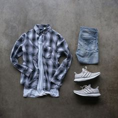 mens outfits with jeans Hype Clothing, Mens Clothing Styles, Dope Outfits, Casual Outfits, Casual Shirts For Men, Men Casual, Mode Man, Streetwear Fashion, Streetwear Jeans