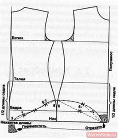 Bodysuit pattern