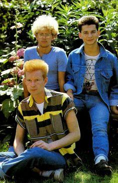 Depeche Mode, Dave Gahan, Martin Gore, Andy Fletcher