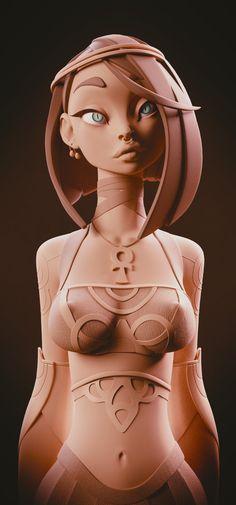 ArtStation - Cleo, Jurii Volkov