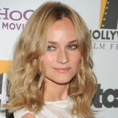 Eye-makeup. Diane Kruger's Best Hair and Makeup Looks
