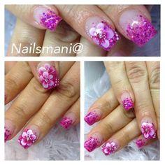 Nailsmani@ #nails #nailart #nailpolish #unghie #violet