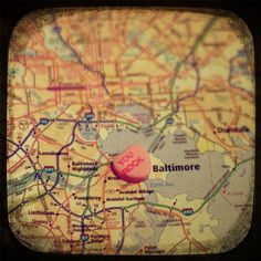 My area, outside of Baltimore, made it. Aww. But, yay Baltimore. Since, this is a Baltimore picture. Haha.