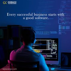 Software plays a key part in your business's growth and efficiency. Coracc Technologies provides custom software development services for the needs of clients and makes the process faster, easier and efficient. Competitor Analysis, Growth Mindset, Starting A Business, Software Development, Business Tips, Plays, Florida, Success, Key