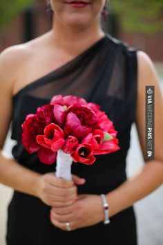 So neat! - red, white, & black wedding  //  aly carroll photography | CHECK OUT MORE GREAT RED WEDDING IDEAS AT WEDDINGPINS.NET | #weddings #wedding #red #redwedding #thecolorred #events #forweddings #ilovered #purple #fire #bright #hot #love #romance #valentines