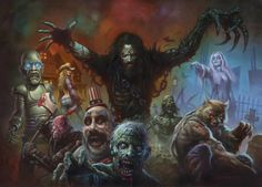 Rob Zombie Spookshow 1 by AlexHorley | Twisted Art For Twisted Minds