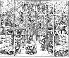 Longhouse interior