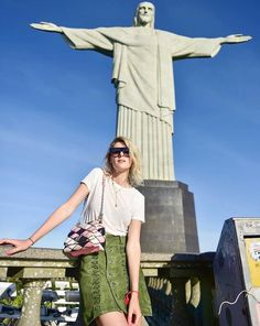Be larger than life in Brazil, when you visit the Christ the Redeemer! Find the exact coordinates in our Photoguide- http://sidewalkerdaily.com/photoguide-rio-de-janeiro/ #instatour