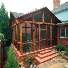 Cedar Porch | Photography: John Umberger | homerebuilders | Flickr