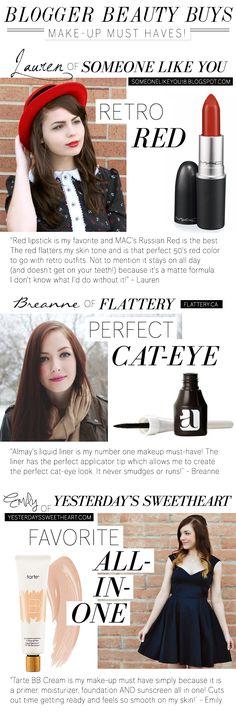 Blogger Picks: Makeup Must Haves