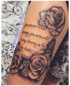 Ankle Tattoos For Women Anklet, Arm Tattoos For Women Upper, Dope Tattoos For Women, Tattoo Quotes For Women, Tattoos For Women Half Sleeve, Upper Arm Tattoos, Shoulder Tattoos For Women, Badass Tattoos, Rose On Shoulder Tattoo