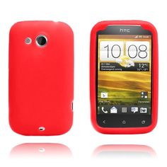 Soft Shell (Red) HTC Desire C