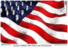 Pulitzer Prize winning Michael P. Ramirez, and his wonderful  political cartoons