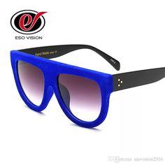 0ff587977d Womens Fashion Velvet Sunglasses Wholesale Cheap Plastic Sunglasses Quality  for Woman And Man Big Frame Lady Retro Oversized Sungalsses Velvet  Sunglasses ...