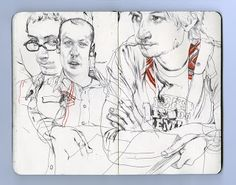 james jean sketchbook - Google Search