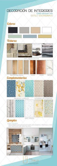 #Infografía Cómo decorar con estilo #nórdico #consejos  por Ana Utrilla