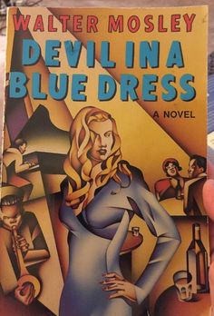 Walter Mosley Devil in a Blue Dress, PB 1990  | eBay