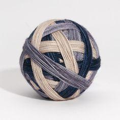 O Naturel  Self striping sock yarn by Scrumptiouspurl on Etsy