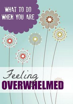 Feeling Overwhelmed?? 5 Tips for Overcoming Stress!