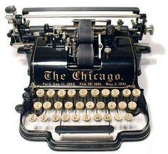 antique typewriter..... by Cenika