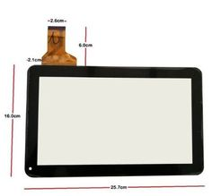 "Replacement Digitizer Glass Touch Screen for 10.1"" POLAROID MID1018 Ezcool X4 TABLET PC FREE SHIPPING #Affiliate"