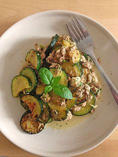 Zucchini - Thunfischpfanne (Rezept mit Bild) von janastra   Chefkoch.de