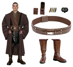 SPECIAL OFFER Star Wars Anakin Jedi Costume Set - JEDI ROBE/TUNIC/BELT/BOOTS in Clothing, Shoes & Accessories, Costumes, Reenactment, Theater, Costumes | eBay