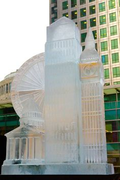 Ice Sculpting Festival from http://LondonTown.com