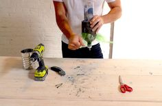 DIY: Concrete pendant lamp - Roomed | roomed.nl