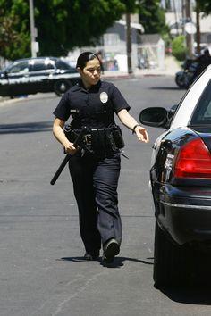 Swoon alert: Jake Gyllenhaal wears a police uniform