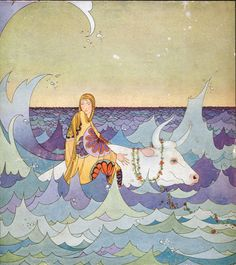 Illustration from Tanglewood Tales by Virginia Frances Sterrett (1920)