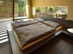 Japanese home modern bedroom. Simple and elegant.