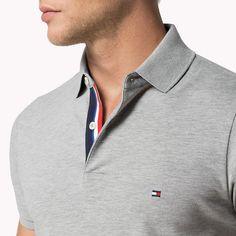 Custom Polo Shirts, Mens Polo T Shirts, Polo Tees, Men's Polo, Nike Clothes Mens, Polo Design, Polo Rugby Shirt, Mens Fashion Wear, Slim Fit Polo