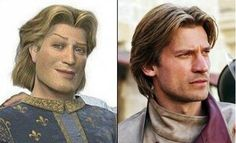 Prince Charming Vs Jaime Lannister... Look-a-likes