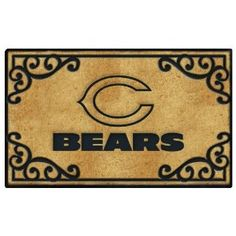 Chicago Bears Door Mat 37.99