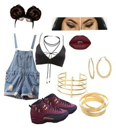 Saucy by melaninefficientsince96 on Polyvore featuring polyvore fashion style Isadora Charlotte Russe BauXo Fragments Miss Selfridge clothing